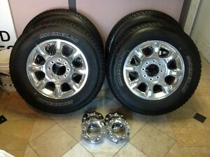 """20"""" rims for f-350 and lights for sale"""