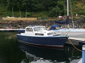 Albin 25ft motor boat
