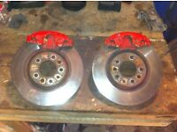Astra vectra zafira 308mm brakes complete set up