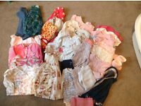Baby girls large clothes bundle 0-3 months
