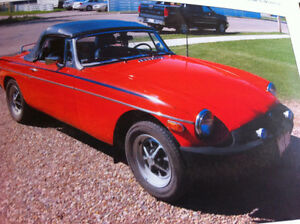 1979 MGB mark -IV Roadster