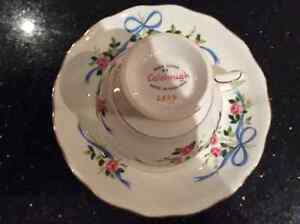 Colclough Vintage Bone China Cup and Saucer Cambridge Kitchener Area image 2