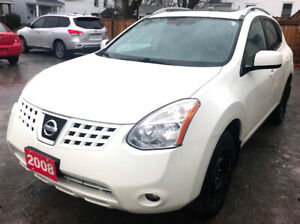 2008 Nissan Rogue SL Leather! No Accident! MP3/CD Changer!
