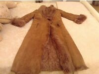 Joseph Tan sheepskin shearling long coat