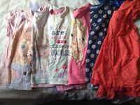 Girls t-shirts 4-5yrs