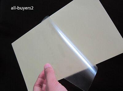 Carta Adesiva per stampanti laser Trasparente Polipropilene Fogli 5-10-15-20-25