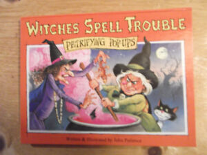 Witches spell trouble pop-up book
