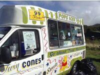 Transit Ice cream Van