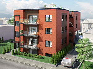 Brand new 2 bedroom condo in old Lachine near canal