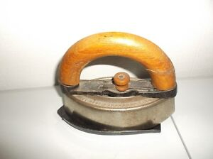 Vintage Iron with Carrying Handle