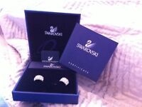 Swarovski Elena Pierced Earrings never worn
