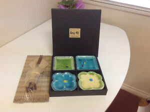 Set of 4 small Japanese Tapas Dish North Shore Greater Vancouver Area image 1