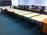 18 x Modern Classroom Desks