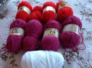 9 skeins Astra yarn