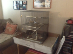 Looking for free cages ( chinchilla)