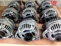 used starter motors and alternators