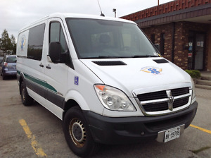 2008 Dodge Sprinter. with Wheelchair  POWER LIFT. 1 owner