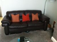 Two seater sofa & one chair