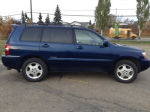 2007 TOYOTA HIGHLANDER LIMITED AWD LEATHER ROOF ONE OWNER