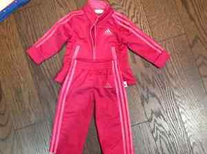 Adidas baby girl outfit size 6 months