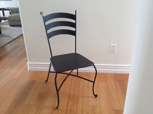 Counter stools and chair set