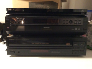 BLU-RAY, DVD and CD Players
