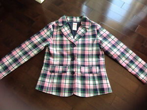 GYMBOREE GIRLS BLAZER  - SIZE S(5/6)