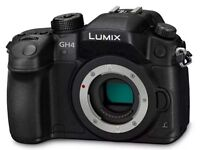 GH4 R Micro Four Thirds 4K Camera (unlimited 4K no 30min restriction)