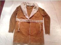 Ladies coat vero mode size: S/M used £5