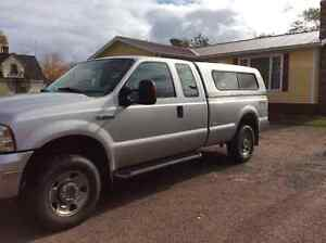 2005 Ford F-250 XLT Super Duty Extended Cab 4x4 sold pending pmt