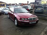 2002 MODEL ROVER 75 CLUB CDTI TOURER BMW ENGINE *SALE*