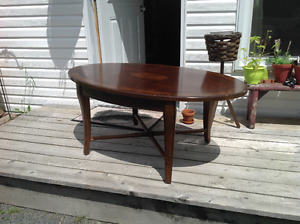 Antique, Table , table basse en bois, vintage, 1950