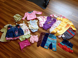 Lot de vêtements 6-9 mois FILLE