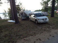 2006 dodge caravan with Viking camper