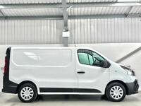 RENAULT TRAFIC BUSINESS SAT NAV 1.6dCi SL29 115 SWB L1H1 LOW MILEAGE CLEAN VAN