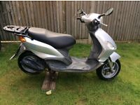 Piaggio fly 50cc one year mot green slip full hpi clear 350 not a penny less
