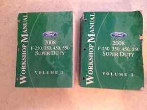 2008 Ford workshop manuals