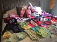 60+ pieces 12/24 months good condition girl clothes
