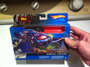X2 hot wheels  Batman ( the riddler) play sets for sale