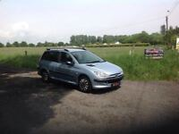 24/7 Trade sales NI Trade Prices for the public 2004 Peugeot 206 1.4 SW Estate