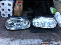 Vw golf mk4 angel eyes/halo headlights
