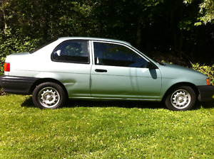 1992 Toyota Tercel Coupe (2 door)
