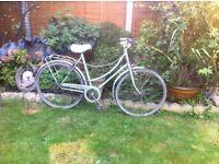 Ladies bike vintage BSA restoration project