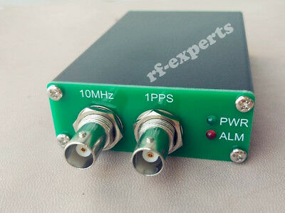 NEW 10MHz Sinwave PLL-GPSDO GPS DISCIPLINED OSCILLATOR+adapter + GPS ANT