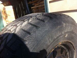 4 winter tires p215 70 r 15 Peterborough Peterborough Area image 2