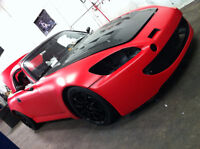 Matte Satin Red Vinyl / LOWEST PRICE in GTA / Wrap your car