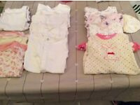 Next, mamas and papas, mini club, Tito piccolo,newborn vests and grows bundle