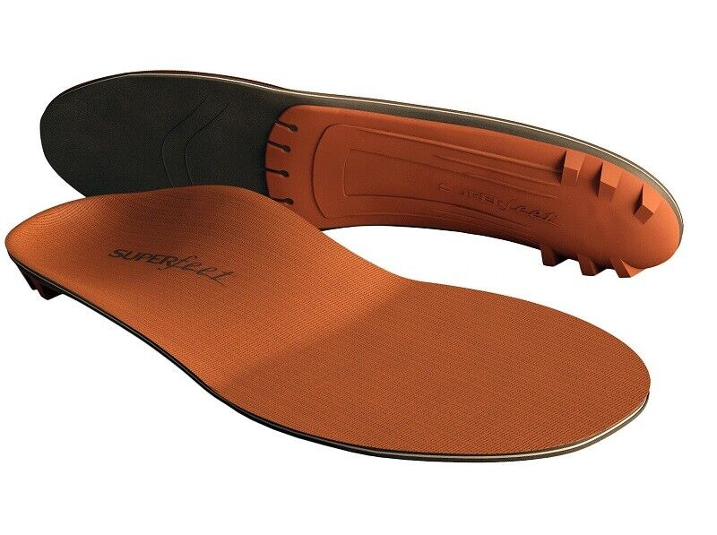 Superfeet COPPER DMP Removable and Moldable Insoles Low Medi