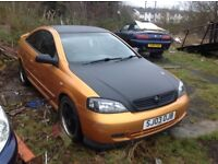 ASTRA BERTON COUPE SPARES ONLY.