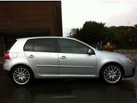 55 PLATE VW GOLF GT 2.0 TDI SPORT DIESEL 6 SPEED TINTED WINDOWS GT SPORT ALLOYS FSH